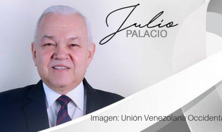 Mensaje de condolencia por fallecimiento del Pr. Julio Palacio, Presidente de la Unión Venezolana Occidental